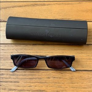 Prodesign Denmark black 90s small retro sunglasses